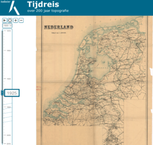 Kadaster Tijdreis over 200 jaar topografie Zuidelijk Westerkwartier
