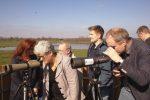 Opening vogelkijkhut in Marumerlage