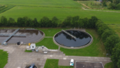 Nieuwe rioolwaterzuiveringsinstallatie in Gaarkeuken