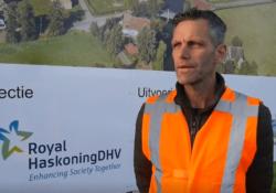 Vlog: Kadeversterking en aanbrengen damwand Hoendiep Zuidzijde