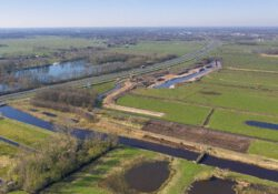 Onland en drie polders